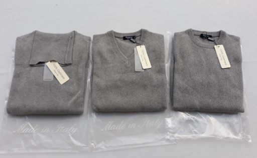 Nouveautés de la production 100% Cashmere Men's Knitwear