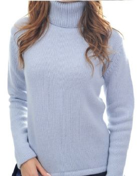 """women's knitwear 100% cashmere """"thick yarn"""" Made In Italy 