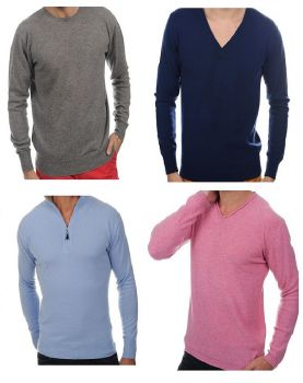 man's knitwear 100% pure cashmere Made In Italy | wholesale