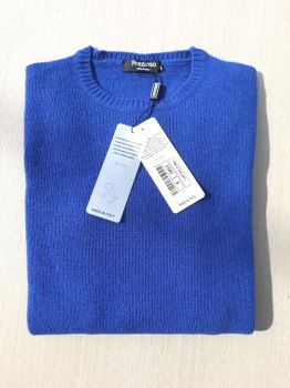 women's knitwear 100% cashmere eletriccrewneck Made In Italy | wholesale