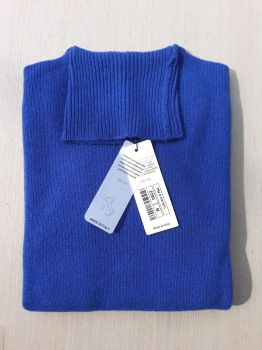 women's knitwear 100% cashmere eletric turtleneck Made In Italy | wholesale