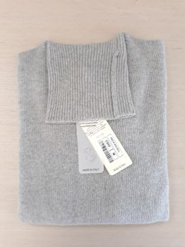 women's knitwear 100% cashmere pearl turtleneck Made In Italy | wholesale
