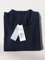 women's knitwear 100% cashmere anthracite turtleneck Made In Italy   wholesale